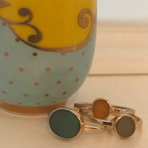 Jewelry - Set of 3 rings size L